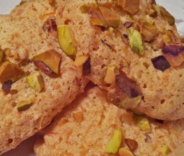 Coconut-Pistachio Meringues